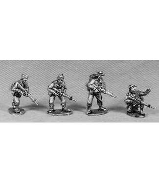 Empress Miniatures ANZAC Command/Scouts with M16's  (ANZ3)