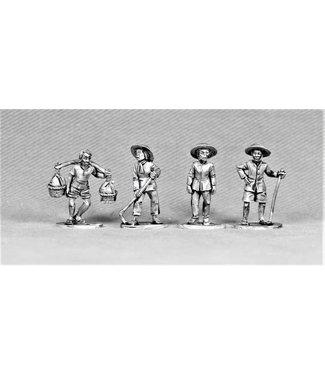 Empress Miniatures Civilians (DS6)