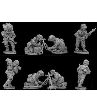 Empress Miniatures French Paratroopers Mortar Teams (DBP04)