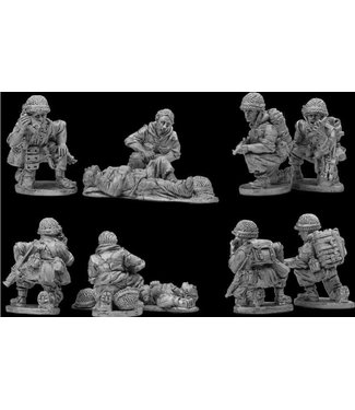 Empress Miniatures French Paratroopers Command (DBP03)