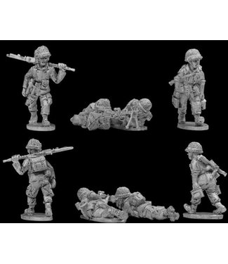 Empress Miniatures French Paratroopers MMG Teams (DBP05)