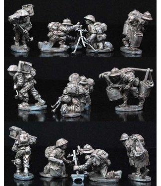 Empress Miniatures Viet Minh Mortar Teams (DBP10)