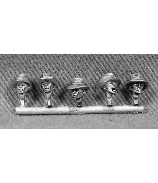 Empress Miniatures Vietnamese Paratroopers Bush Hat Heads (DBP19)