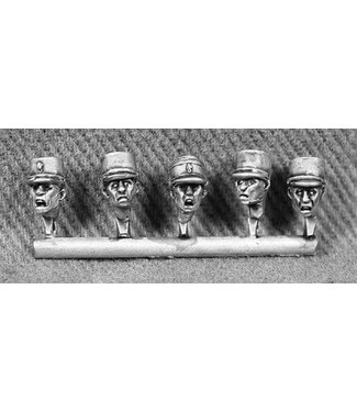 Empress Miniatures French Foreign Legion Heads with Kepis (DBP20)