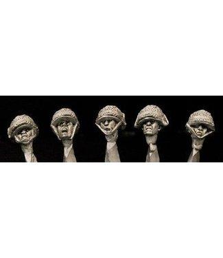 Empress Miniatures French M1 Helmets Heads (DBP26)
