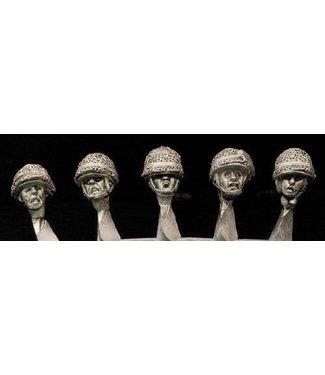 Empress Miniatures French M1 Helmets Heads (DBP27)