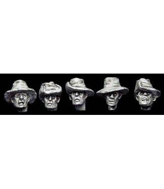 Empress Miniatures French Bush Hat Heads (DBP28)
