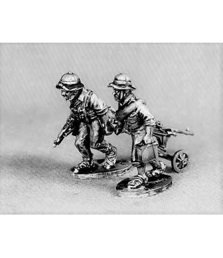 Empress Miniatures North Vietnamese Army MMG teams (NVA13)