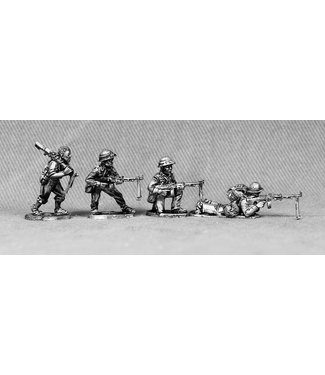Empress Miniatures North Vietnamese Army Infantry with RPD LMG's (NVA7)