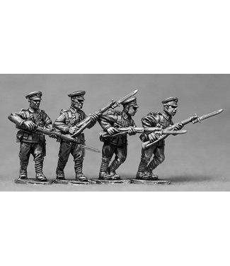 Empress Miniatures BEF Riflemen Advancing (BEF07)