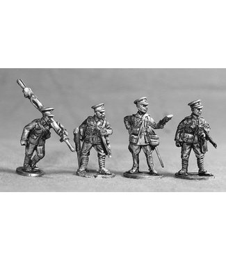 Empress Miniatures BEF Support/Command Group (BEF09)