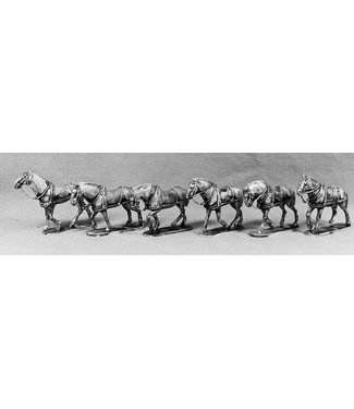 Empress Miniatures BEF Horse Team for Howitzer (BEF17)