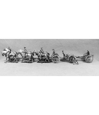 Empress Miniatures BEF Howitzer Limber Crew (BEF18)