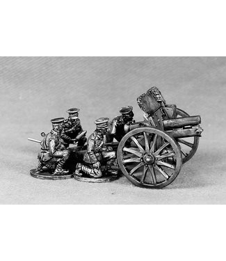 """Empress Miniatures BEF 4.5"""" Howitzer and Crew (BEF19)"""