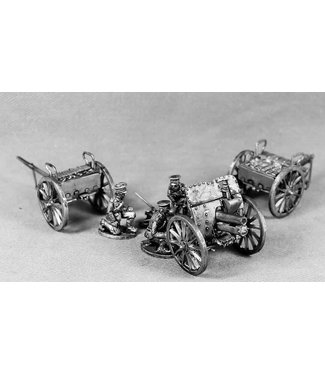 """Empress Miniatures BEF 4.5"""" Howitzer with everything (BEF20)"""