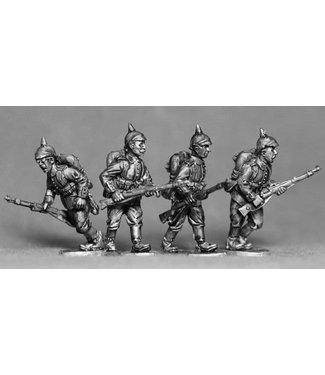 Empress Miniatures German Riflemen Advancing (GER01)