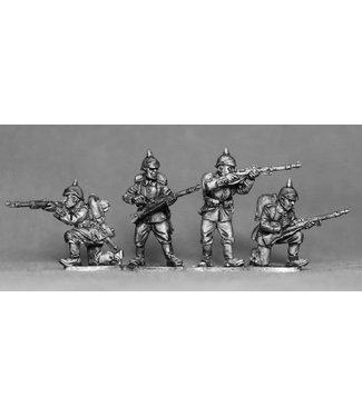 Empress Miniatures German Riflemen Firing/Loading (GER02)
