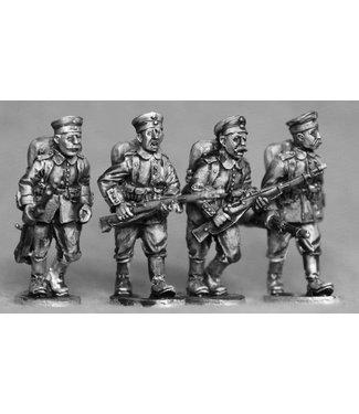 Empress Miniatures German Riflemen Advancing (GER03)