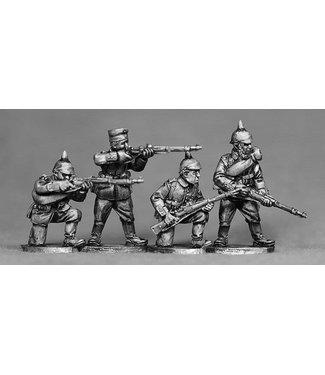 Empress Miniatures German Riflemen Firing/Loading (GER07)
