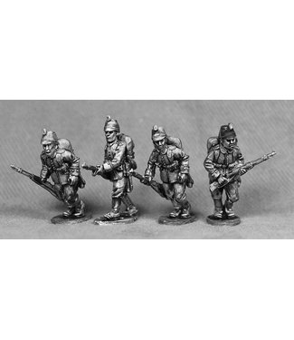 Empress Miniatures German Riflemen Advancing (GER12)