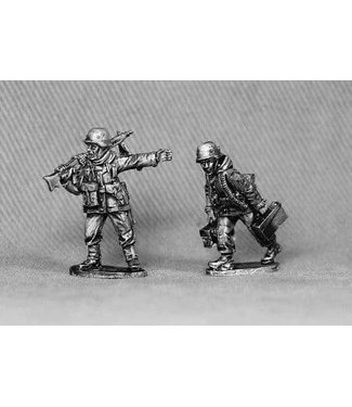 Empress Miniatures Volksgrenadiers with MG42 (VG13)