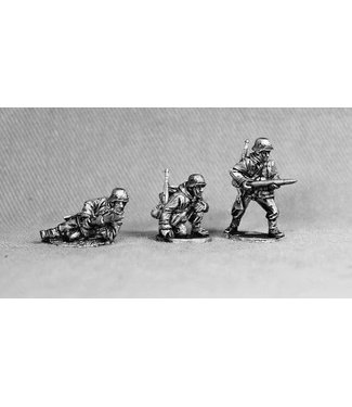 Empress Miniatures Volksgrenadiers PAK40 Gun Crew (VG15)