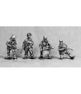 Empress Miniatures Volksgrenadiers officers/NCO's (VG4)