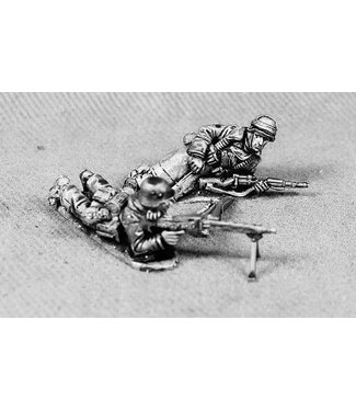 Empress Miniatures Volksgrenadiers with MG42 (VG5)