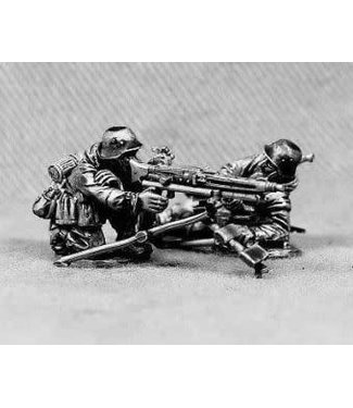 Empress Miniatures Volksgrenadiers with MG42 tripod (VG6)
