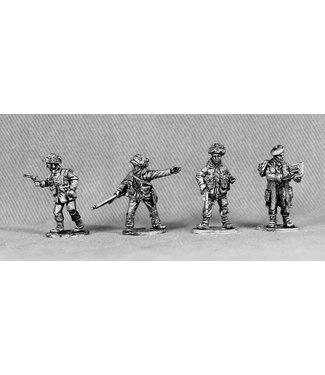 Empress Miniatures Late War Brits Command (LB10)