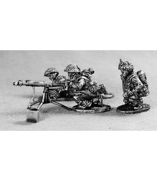 Empress Miniatures Late War Brits Vickers MMG Team (LB11)