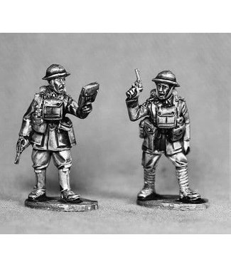Empress Miniatures Early War British Command/Sniper (TA13)