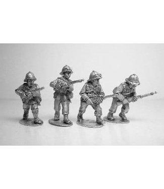 Empress Miniatures Italian Army Riflemen Advancing (ITI1)