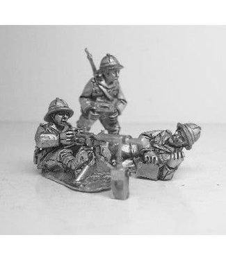 Empress Miniatures Italian Army Fiat Revelli HMG Team (ITI3)