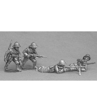 Empress Miniatures Italian Army LMG Teams with Breda 30's (ITI5)