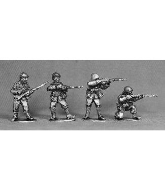 Empress Miniatures Italian Army Riflemen with Helmets Firing/Loading (LIT04)
