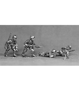 Empress Miniatures Italian Army LMG Teams with Breda 30's with helmets (LIT07)