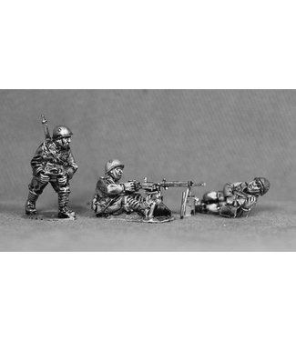 Empress Miniatures Italian Army Fiat Revelli HMG Team with helmets (LIT08)