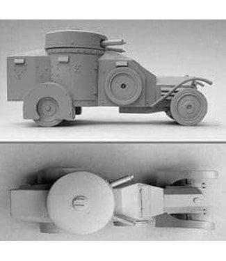 Empress Miniatures Italian Army Lancia 1ZM AC