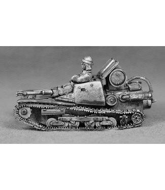 Empress Miniatures Italian Army CV Lanciaflamme barrel version (VEH24)
