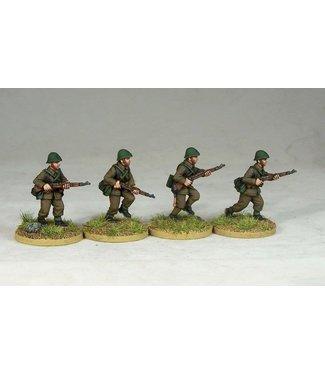 Empress Miniatures Romanian Riflemen Advancing (R002)