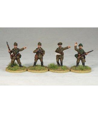 Empress Miniatures Romanian Command (R001)