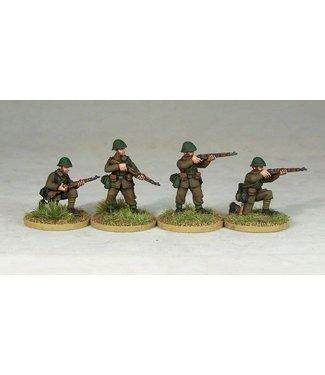 Empress Miniatures Romanian Riflemen Firing/Loading (R003)