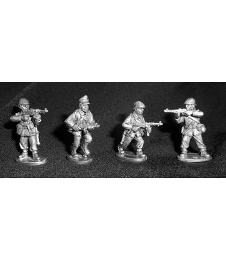 Empress Miniatures Romanian Infantry with SMG's (R004)
