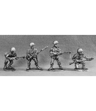Empress Miniatures US Army with BAR's/Grenade launchers (GI 2)