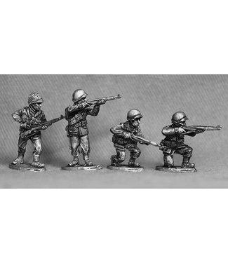 Empress Miniatures US Army Infantry Firing/Loading (GI 5)