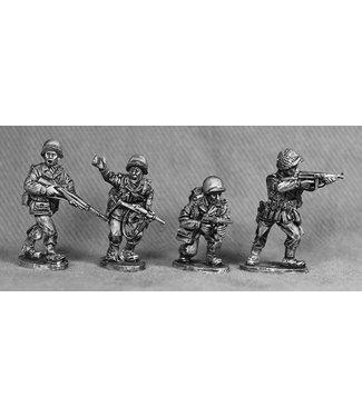 Empress Miniatures US Army Platoon Leaders (GI 9)