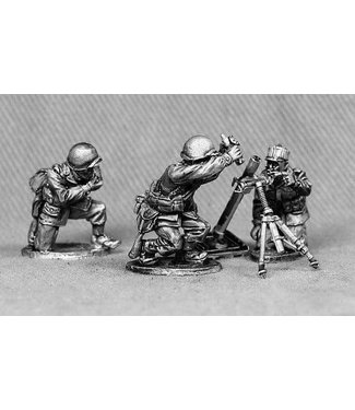 Empress Miniatures US Army 81mm Mortar Team (GI16)