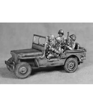Empress Miniatures US Army Jeep with Crew (JEEP2)