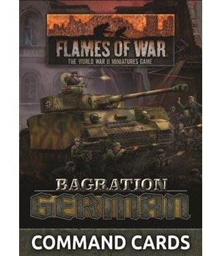 Flames of War Bagration: German Command Card (55x)